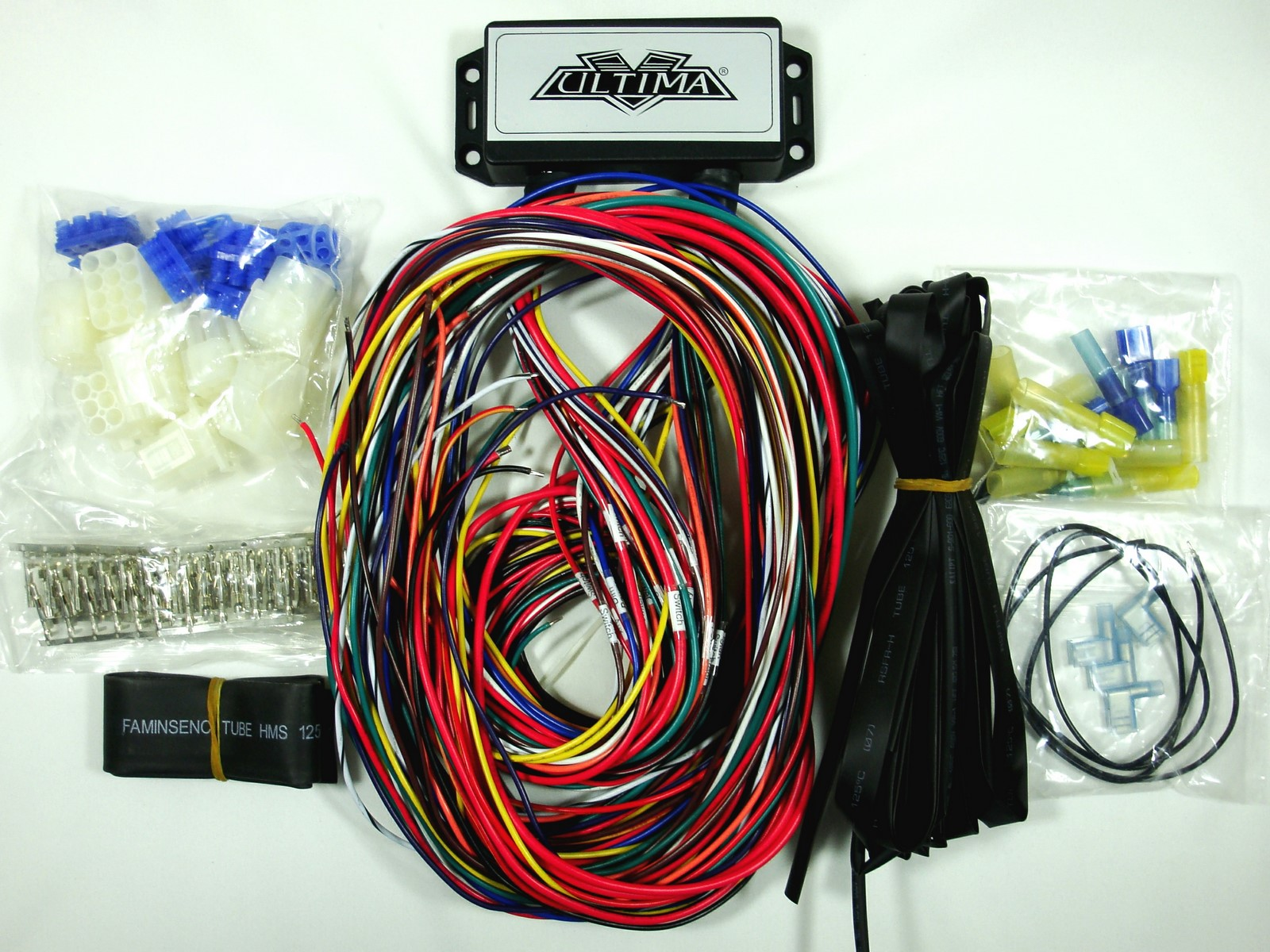 Rebuild Motorcycle Wiring Harness : Ultima plus electronic wiring harness system for harley