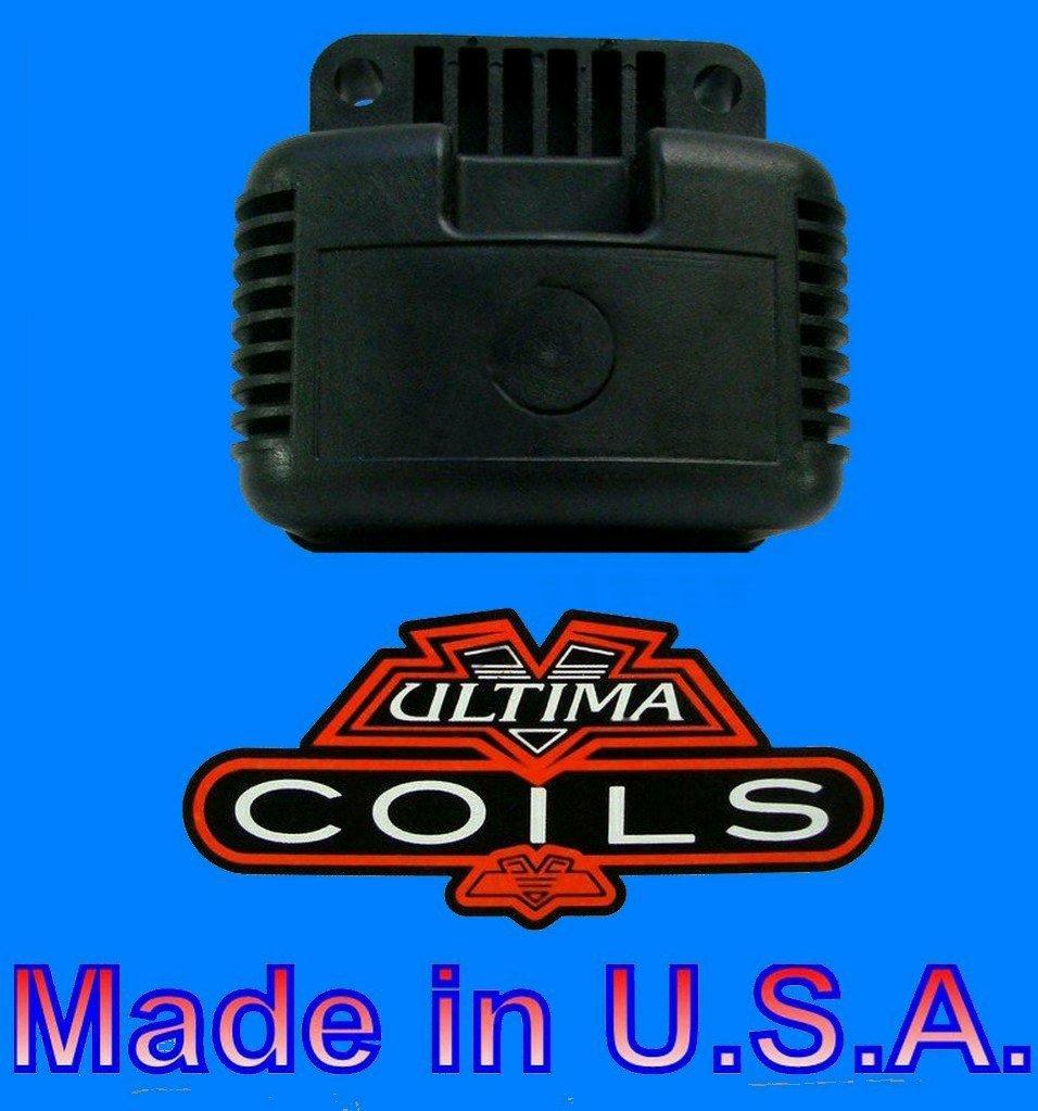 3 OHM Ultima Single Fire High Performance 12V Coil; 40,000V