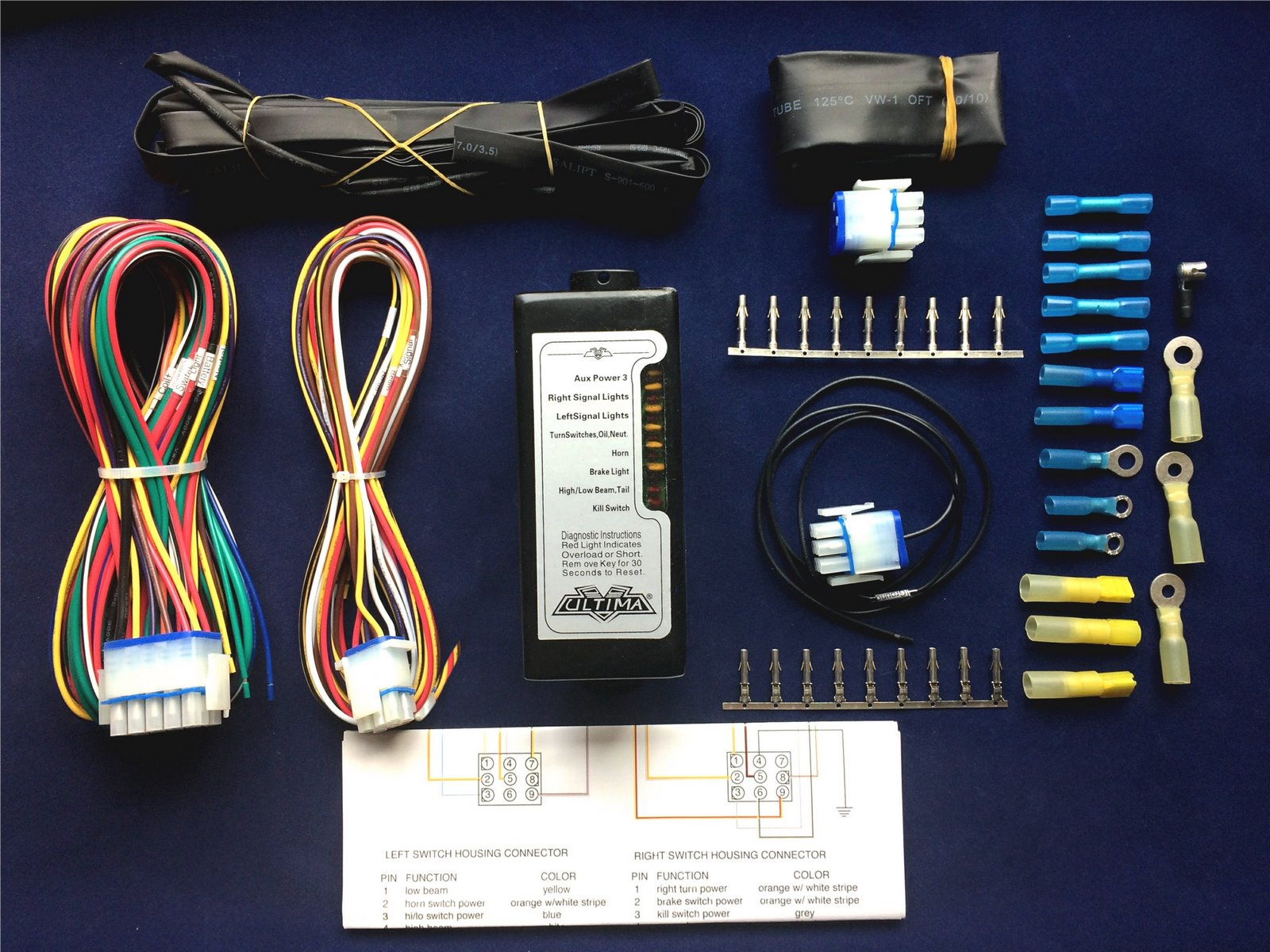 Details about ULTIMA® Complete Electronic Wiring Harness System; Harley on